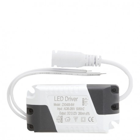 Driver Non Dimmable LED Downlight 6W Greenice
